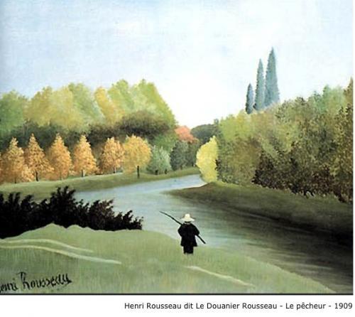 Henri Rousseau dit Le Douanier Rousseau - Le pêcheur - 1909