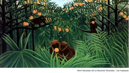 Henri Rousseau dit Le Douanier Rousseau - Les tropiques