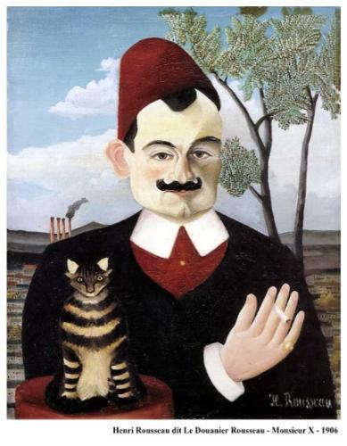 Henri Rousseau dit Le Douanier Rousseau - Monsieur X - 1906