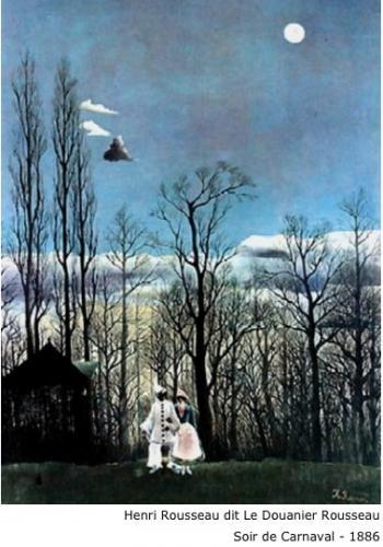 Henri Rousseau dit Le Douanier Rousseau - Soir de Carnaval - 1886