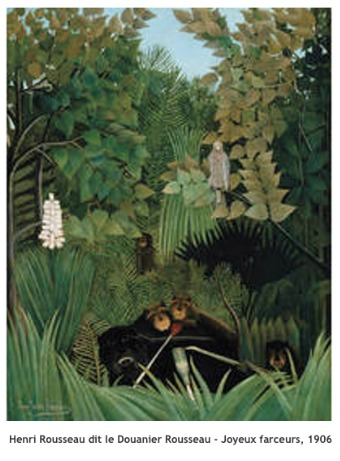 Henri Rousseau dit Le Douanier Rousseau - Joyeux farceurs - 1906